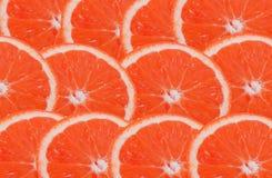 Parts d'orange Photos libres de droits