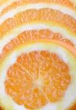 Parts d'orange Image libre de droits