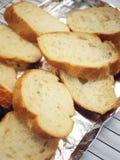 Parts de baguette Photos stock