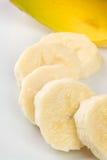 Parts de banane Images stock