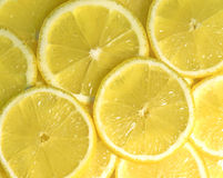 Parts de citron Images libres de droits