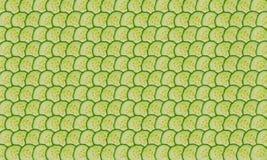 Parts de concombre Photo libre de droits