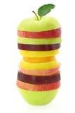 Parts de fruit Image libre de droits