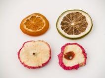 parts de fruits secs photo stock