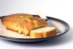 Parts de gâteau Photo libre de droits