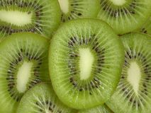 Parts de kiwi Photo libre de droits