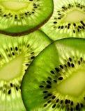 parts de kiwi Photographie stock libre de droits