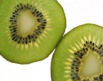 Parts de kiwi photos stock