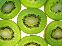 Parts de kiwi Photos libres de droits