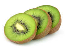 Parts de kiwi image stock