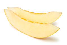 Parts de melon image libre de droits