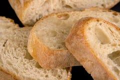 Parts de pain Photographie stock libre de droits
