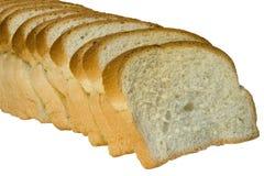 Parts de pain Photographie stock