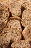Parts de pain complet images libres de droits