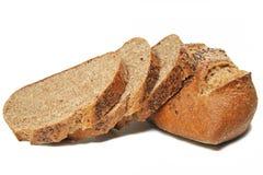 Parts de pain de blé photo stock