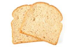 Parts de pain de blé entier Image libre de droits