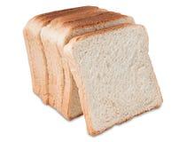 Parts de pain grillé de pain Photographie stock