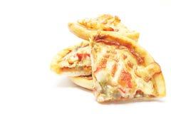 Parts de pizza Image libre de droits