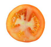 Parts de tomate Photographie stock