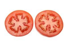 Parts de tomate photographie stock
