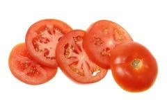 Parts de tomate Photo libre de droits