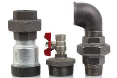 Parts of the heating system Stock Photography