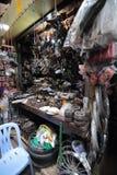 Parts inside motorbike shop, Ho Chi Minh City, Vietnam Royalty Free Stock Photos