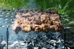 Parts juteuses de viande photos libres de droits