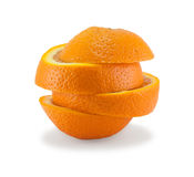 Parts oranges Image stock