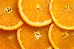 Parts oranges Image stock
