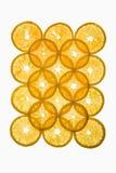 Parts oranges. images stock