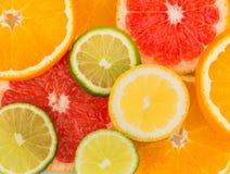 Parts oranges photographie stock libre de droits