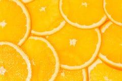 Parts oranges Photos libres de droits