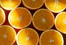 Parts oranges Image libre de droits