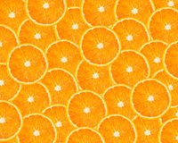 Parts oranges Photos stock