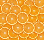 Parts oranges Photos libres de droits