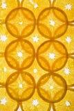 Parts oranges posées. images libres de droits