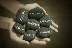 The parts to success 1 Royalty Free Stock Image
