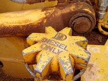 parts traktoren Arkivfoton