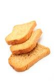 parts trois de pain Photos libres de droits