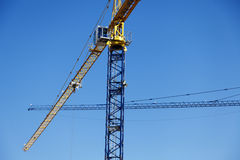 Tower Cranes Abstract Stock Photos