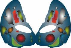 Party ícones da máscara, logotipo para o conceito móvel e apps da Web Ilustração do Vetor