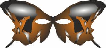 Party ícones da máscara, logotipo para o conceito móvel e apps da Web Ilustração Royalty Free
