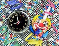 Принципиальная схема времени партии Стоковые Изображения