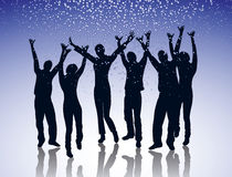 Party. Young people dancing at a party Royalty Free Stock Photography