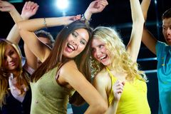 At party Royalty Free Stock Images