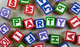 Party Stockfotografie