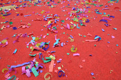 Party abstract confetti Stock Photography