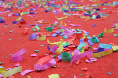 Party abstract confetti Royalty Free Stock Photo