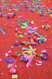 Party abstract confetti Royalty Free Stock Photos